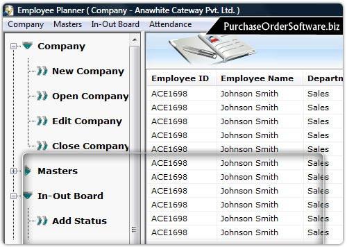 Windows 7 Staff Management Software 4.0.1.5 full